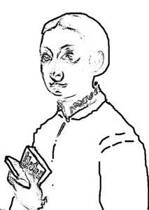 Sofonisba Anguissola, taktile Grafik