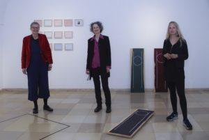 Eröffnung Lebenslinie_Foto mit KünstlerInnen